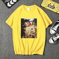 Camisetas para hombre 2021 Menores de mariposa T Shirt Effect Fund Music Cover High Calidad Cara de verano Material Material T-shirt Tallas grandes