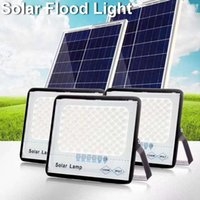 Outdoor Lighting Solar Lamps 50W 100W 200W 300W High Brightness 3030 LED IP67 Solar Flood Light In Stock