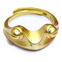 Anillo de oro para mujeres 3D lindo vintage plata rana anillo accesorios regalo de navidad joyería al por mayor ajustable