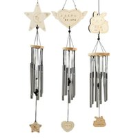 Decorative Objects & Figurines Nice Household Products Wind Chime Lamp Solar Colorful Bubble Column Decoration Landscape Light For Home Deco