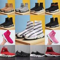2021 Designer Sock Спортивная скорость 1.0 Тренажеры на шнуровке Повседневная обувь Тренер Роскошные Женщины Мужчины Бегуны Кроссовки Модные Носки Сапоги Платформа Растяжка Кроссовки Обувь