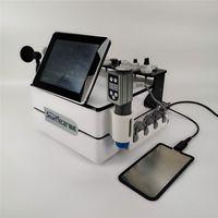 Accueil Utilisation Clinique Health Beauty Gadgets Diathermy RF Tecar Machine de physiothérapie pour la douleur corporelle Soulagement de la douleur Shokwave Equipement physique pour traiter le massage