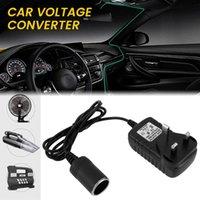 Car Plug Adapter 12V DC Car Voltage Converter Cigarette Lighter British Standards Power Adapter Charger 3-pin Plug Household