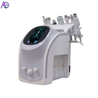 Popular 6 and 7 in 1 Skin Lift Anti-aging Facial Cleaning hydra-facial Smart analyze Deep Pore microdermabrasion Vacuum Hydra Beauty Machine