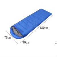 Envelope Outdoor Camping Adult Sleeping Bag Portable Ultra Light Travel Hiking Sleeping Bag With Cap FWE10417
