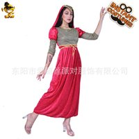 Dresses Casual Halloween Renaissance Medieval Red Princs Party Drs