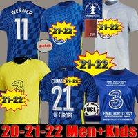 Chelsea Soccer jerseys  21 22 Werner havertz chilwell ziyech futebol jerseys 2020 2021 2022 Camisa de futebol pulisic kante montagem 4th men kits kits
