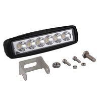 1 Sztuk Super Jasny LED Light Light Bar 12d 6 cali Offroad Combo LED do ciężarówki 4x4 SUV ATV NIVA 12V 24 V Auto Light Light Car