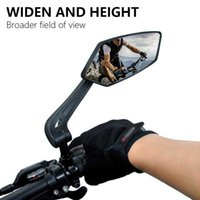 1Pair Bicycle Rear View Mirror Set Bike Cycling Wide Range Back Sight Reflector Adjustable Left Right Mirrors Cycling Equipment