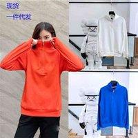 2021 Nk New Women's Functional Series Half Zipper Stand Collar Sports Casual Sweater Sweatshirts