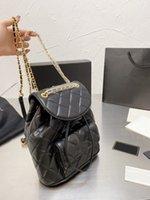 Мода Classic Sumbaging Agerbskin рюкзак дизайнер Diamond высококачественные рюкзаки CC сумки
