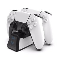 Dual Fast Charger Stand for PS5 Wireless Controller USB 3.1 Type-C Charging Cradle Dock Station for Play Station 5 Joystick Gamepad Charging Mount