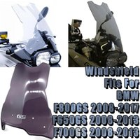 دراجة نارية رياضية بجولة الزجاج الأمامي Visor Visor Wind Deflection Windscreen يناسب F800GS 2008-2021 F650GS F700GS 2008-2012