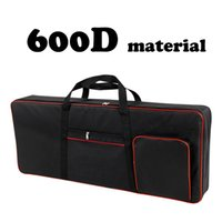 420D 600D Thickened nylon 61 key keyboard instrument keyboard bag Waterproof electronic piano cover case for electronic C0407
