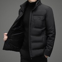 Men's Down & Parkas 2022 Autumn And Winter Stand-up Collar Jacket Cold Warm Coat Windproof
