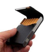 Storage Bags 1PC Aluminum Parts Bag Tabak Case Holder Pocket Box Arrival PU Card