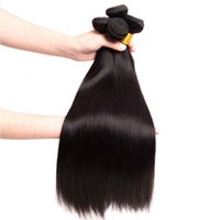 12a Wholesale Price Bulk Silky Straight Brazilian Human Hair Bundles Raw Unprocessed Natural Color Can Be Dyed