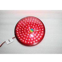 وصول LED ضوء حركة المرور وحدة 200 ملليمتر لون أحمر أجزاء مصباح أجزاء