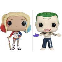 Funko Pop Suicide Team X Task Force Clown Harley Quinn Männchen 97 # 96 # Handgemachtes Spielzeug