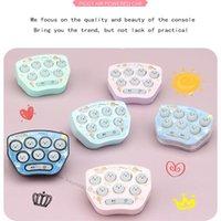 Whack-A-mole giocattolo gioco Mini tasca catena chiave carino cartoon cartoon creativo ciondolo regalo