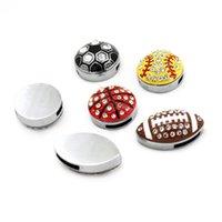 10 stks 8mm Volledige strass Mixed Style Balls Slide Charms Hang Hangers DIY Accessoires Fit 8mm Riemen, Armbanden, Kettingen 1730 T2