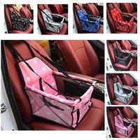 School Bags Pet Kitten And Puppy Car Harness Seat Bag Waterproof Basket Folding Hammock Backpack Small Cat Dog Safety Travel Net