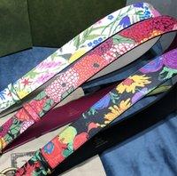 2021 Männer Designer Gürtel Mode Echtes Leder Womens Herren Brief Doppel G Schnalle Gürtel Cinturones de Diseño Mujeres Breite 4.0 cm mit Kasten- und Staubbeutel