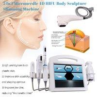 5 в 1 4D Hifu вагинальный затягивающий липосоникс V-MAX Тело для похудения Машина для удаления морщин лица подтягивание жира