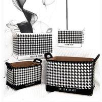Arte quadrada cesta de lavanderia dobrável brinquedo roupa suja dificultar com alças Balde de bin de armazenamento para cestas de barril de casa de banho