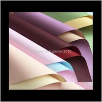 Doppelgesichtigtes Doppel-Colore-Wasserdicht-Verdickung 7 Seide-Shop-Blumenverpackung Papierverpackung Business Industrial 9HYT AOQ9M