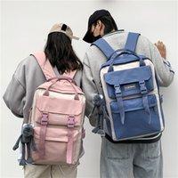 Luxus Designer Handtasche Rucksack Koreanische Harajuku Ulzzang Mittelschule Student Student Student Juniors Schultasche Weibliche Paar Mori Rucksack