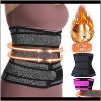 Supporto THERMO Sweat Cinture per le donne Vita Trainer Corsetto Tummy Body Shaper Fitness Strap Strap Scarpe Trainer WOGL0 QBXRW