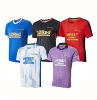 21/22 RANGERS Jerseys de fútbol Glasgow 2021 2022 Campeones de tee 150 aniversario 55 Defoe Barker Morelos Hombres Niños Mujeres Entrenamiento Camisetas Thai Thai