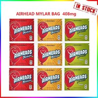 Airhead Zipper Package Edibles Pouch resealable Mylar Bag Empty Retail Storage 400mg Infused Packaging Fast Ship In stock