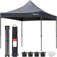 10'X10 'Outdoor Pop Up Canopy Party Commercial Folding Barracas Shelter Gazebo