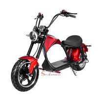 Fat Tire 3000W 60V 20AH Lithium Electric Scooter Citycoco Black EEC COC Moped Moto bike Chopper Escooter Eu Warehouse