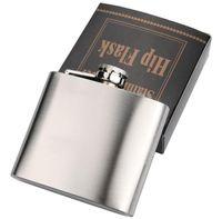 Flacons de hanche extérieures portables acier inoxydable flagelleux bouteille de whisky bouteille de vignoble bouteilles d'alcool 4oz 5 oz 6oz 7 oz 8 oz 10oz