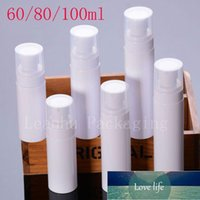 Storage Bottles & Jars 60ml 80ml 100ml Empty White Mist Spray Pump Cosmetic Container Lotion Cream Dispenser Perfume Plastic Containers