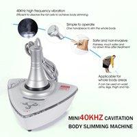 مصغرة 40K جهاز التخسيس الدهون تقليل التجويف rf الجمال آلة التجاري المنزل استخدام الموجات فوق الصوتية فقدان الوزن