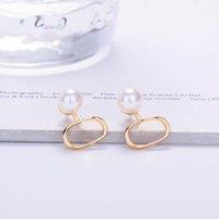 Women's Stud Earrings Brands pearl heart letters Ear men Earring Gold Silver Jewelry Accessories Good quality fashion Gift for Girls in Box 21ss