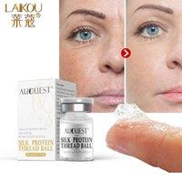 Collagene Filo di seta Faccia Siero Essenza anti-invecchiamento anti-rughe idratante idratante gel proteina crema proteina crema per la pelle