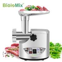 Biolomix Heavy Duty 3000w Max Puissant Viande de viande électrique Puissante Home Saucisson Stuffeuse de viande Matériong Mincer Food Processeur