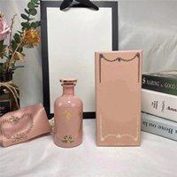 في المخزون تصميم فاخر الهواء المعطر زجاجة الوردي الركود ل nymph النساء العطور 100ML جودة عالية شحن سريع مجاني