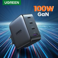 UGREEN USB Charger 100W GaN Charger for Macbook tablet Fast Charging for iPhone Xiaomi Type C PD 13 12 11