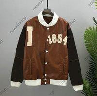21ss designer de baseball vestes hommes femmes à capuche de basketball cuir veste homme Paris mode streetwear à manches longues luxurys manteau
