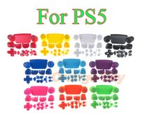 Controller Buttons Joystick Key Replacement Shell Case Cover Cap L1 R1 L2 R2 for PS5 Gamepad Handle Accessories