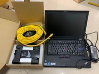 Per BMW Icom successivo con software per utensili diagnostici laptop ISTA ISIS ISID HDD 500GB T410 Toughbook I5 4G Pronto all'uso