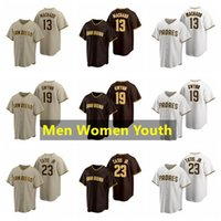 San DiegoBaseball-Trikots 23 Fernando Tatis Jr Jersey 13 Manny Machado 19 Tony Gwynn Männer Frauen Jugendgröße -XXXXL