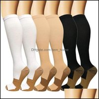Athletic Outdoor As Sports & Outdoorssports Socks 1 Pair Unisex Compression Women Men Anti Fatigue Pain Relief Knee High Stockings Mens Runn