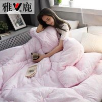Comforters & Sets Twin Queen King Size Patchwork Thick Warm Quilt Duvet Adult Bedroom Luxury Spring&Autumn&Winter Blanket Quilts Bedding Com